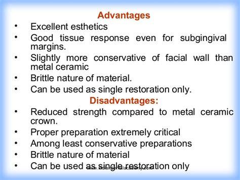 the advantages and disadvantages of using ceramic bathtubs tooth preparation for full veneer crowns certified fixed