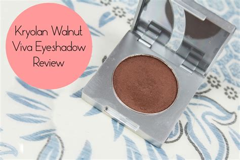 Eyeshadow Viva Review kryolan walnut viva eyeshadow review price and swatch