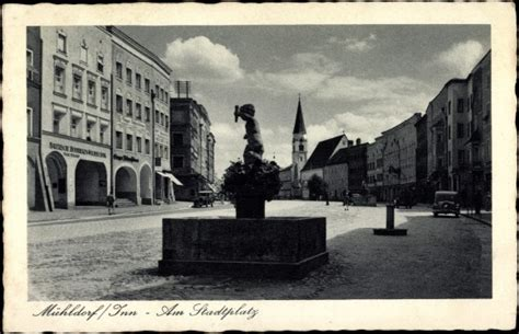 mühldorf an der inn ansichtskarte postkarte m 252 hldorf an der inn partie am