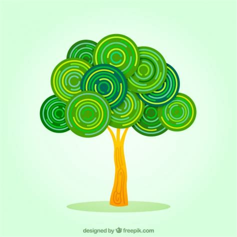 Abstract Tree Vector Free Download Logo With Abstract Tree Vector Free