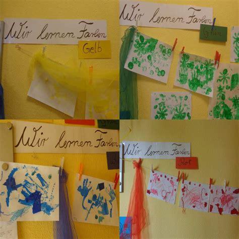 Farben Im Kindergarten Ideen by Projekt Farben In Der Krippe Familien In Findorff E V