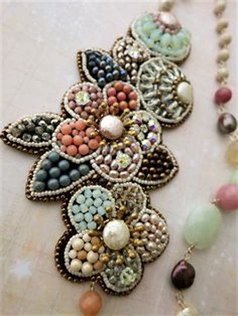 bead embroidery flowers find the right beading needle bijoux patterns and modelo