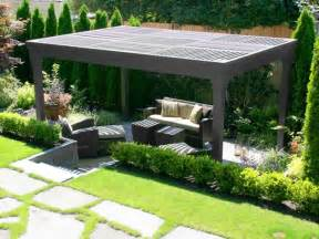 Pergola Designs With Covers by Pergola And Patio Cover Seattle Wa Photo Gallery