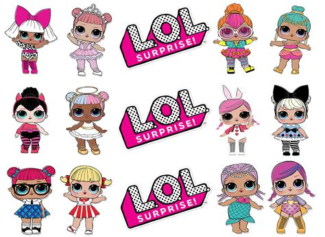 Lol Dolls Printable