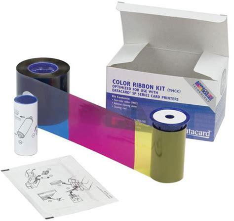 Printer Ribbon datacard 552854 004 id card printer ribbon best price