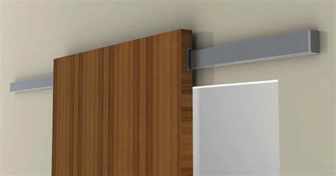air sliding system for wood door modern home