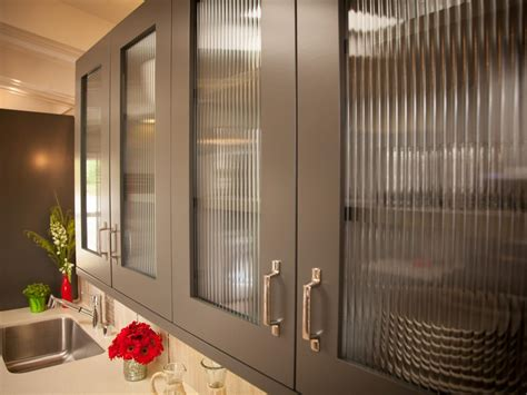 kitchen cabinet with glass door photos hgtv