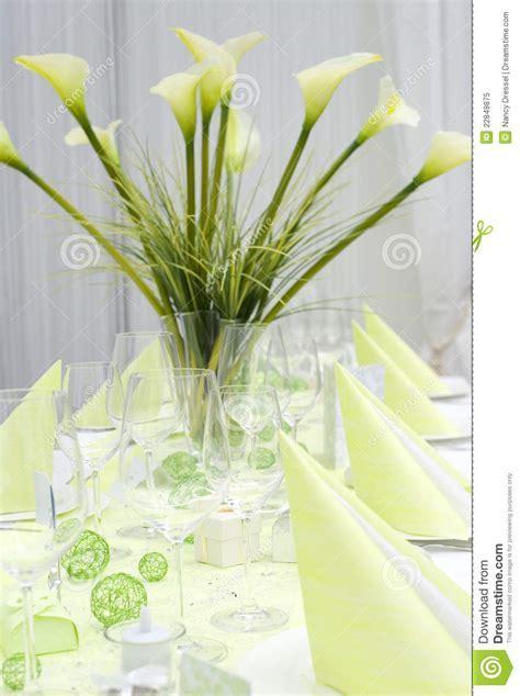 Modern Wedding Table Decoration Stock Image   Image: 22849875