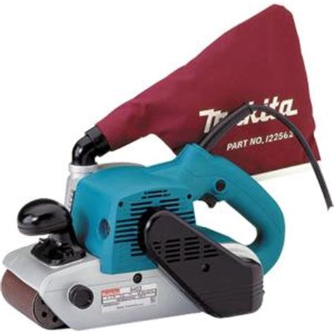 makita 4 in x 24 in belt sander 9403 the home depot