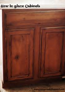 Glazing Stained Kitchen Cabinets Remodelaholic Upgrade Cabinets By Building A Custom