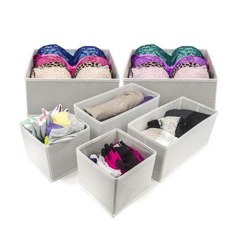 Dresser Organizer For by Foldable Storage Drawer Closet Dresser Organizer Bins For Bras Socks Ties Scarves