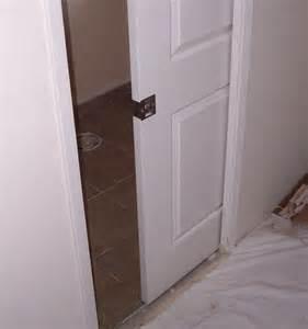 new bathroom pocket door