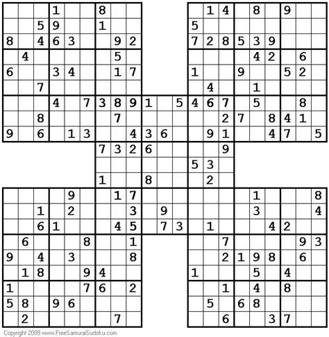 printable sudoku and crossword puzzles 1001 moderate samurai sudoku puzzles sudoku pinterest