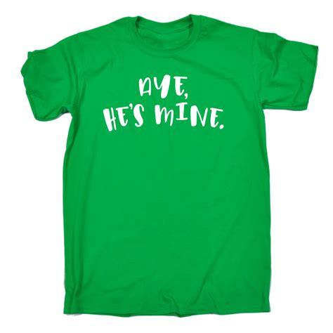 Kaostshirt Big Size Pool Boy 2xl 3xl 4xl aye hes mine joke for boyfriend t shirt