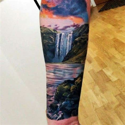 waterfall tattoo 25 best ideas about waterfall on wave