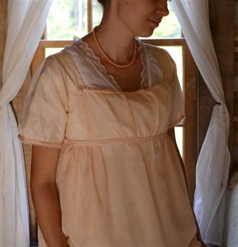 pattern for regency apron the story of a seamstress peach silk regency apron front
