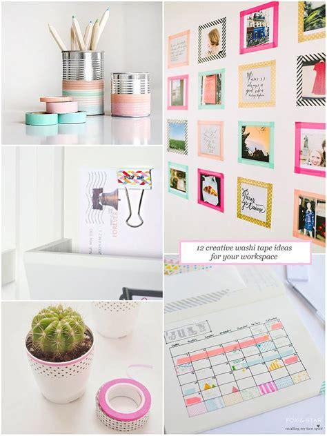 Washi Desk by 25 Unique Washi Frame Ideas On Diy Washi