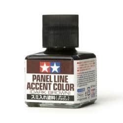 Tamiya Panel Line Accent Color Brown panel line accent color brown 40ml tamiya 87140 maquette char promo