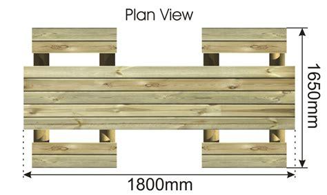 bench plan view gesall january 2015