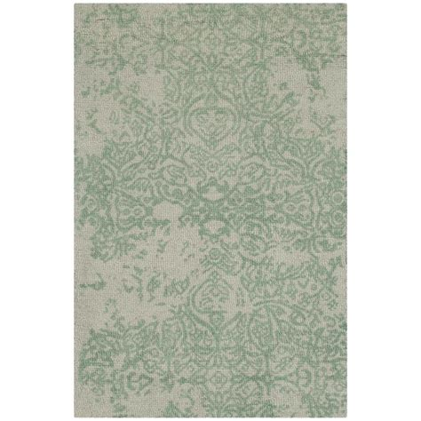 turquoise and gray rug safavieh restoration vintage gray turquoise 2 ft x 3 ft area rug rvt105c 2 the home depot