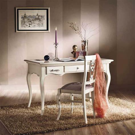 scrivanie shabby chic scrivania 3 cassetti shabby chic mobili casa idea stile