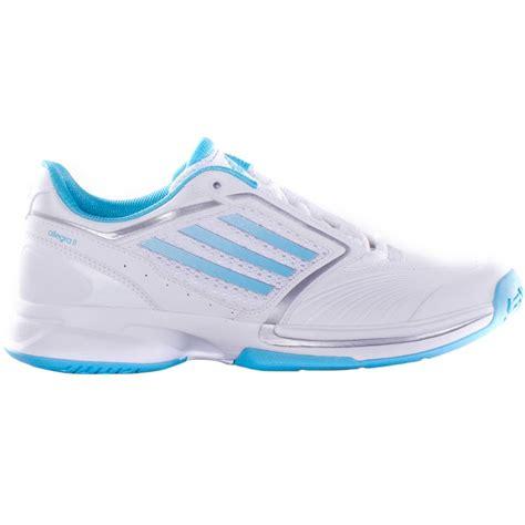 adidas allegra ii s tennis shoe white aqua