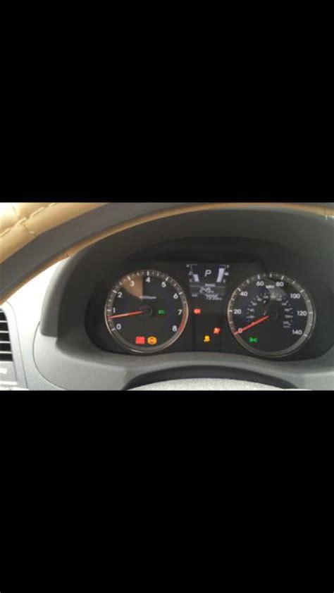 esc light on hyundai 2014 hyundai accent warnings indicators malfunction 1