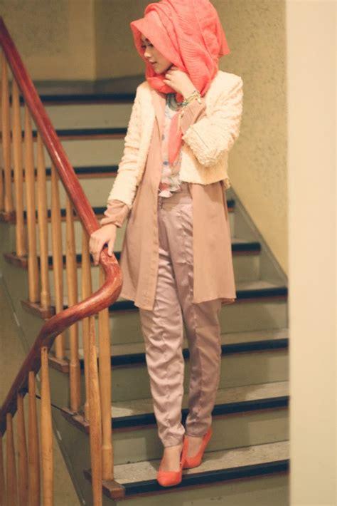 fashion hijab inspirasi  indah nada puspita tutorial