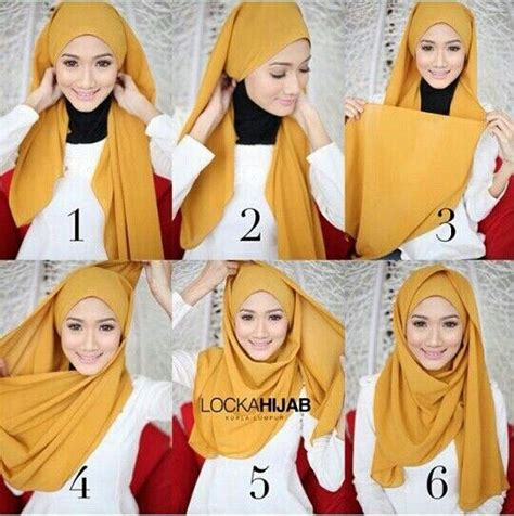 tutorial pashmina simple 114 best hijab tutorials images on pinterest hijab
