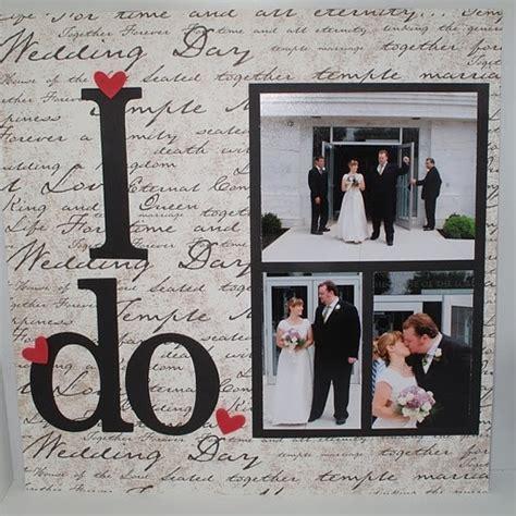 scrapbook wedding layout ideas pinterest