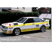Tuning Tipps  Audi Urquattro
