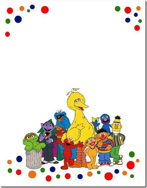 Sesame Templates 25 best ideas about sesame invitations on sesame streets elmo birthday and