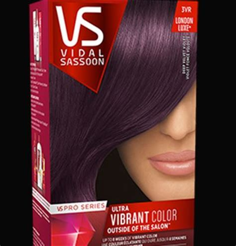 vidal sassoon hair colors best purple hair dye brands best permanent purple hair