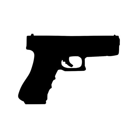 tattoo gun emoji 9mm gun ammo pistol graphics svg dxf eps png cdr ai pdf vector
