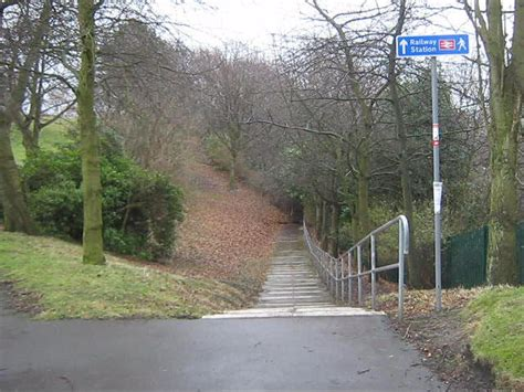 durham park steps from wharton park to the railway 169 robinson geograph britain and