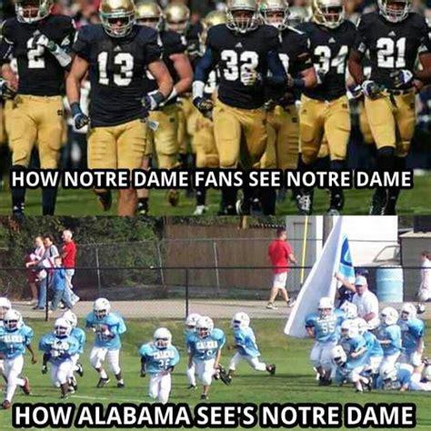 Notre Dame Meme - bcs chionship on tumblr