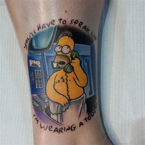 homer simpson tattoo homer designs ideas and meaning tattoos