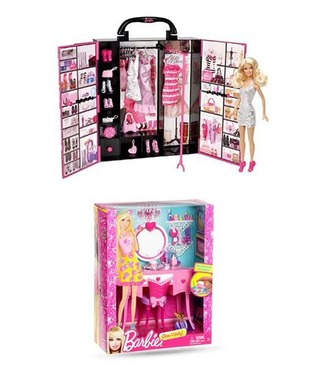 fashion doll closet closet fashion doll with glam vanity buy