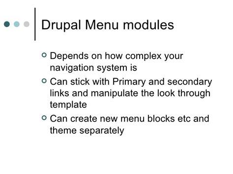 drupal theme links system main menu drupal theming