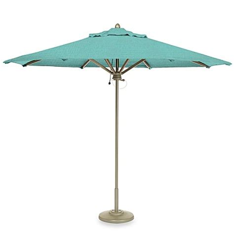 Brown Patio Umbrella Buy Brown 9 Foot Octagon Patio Umbrella In Splash
