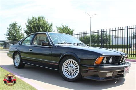 how cars engines work 1989 bmw 6 series interior lighting buy used 1989 bmw 635 csi 3 5 l engine in dallas texas united states