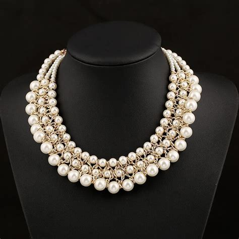 Liontin Luxury White Gold Plated 116 Free Rantai Box Pouch Cantik best wholesale pearl necklace 45cm luxury beaded wedding necklace for white necklace 3
