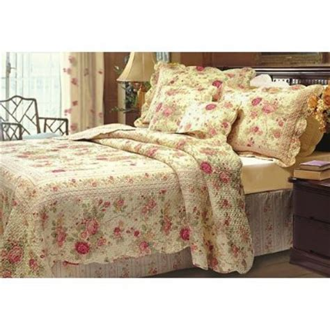 gt gt gt cheap chic shabby romantic rose bedding quilt set queen