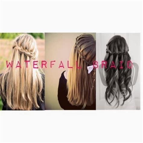 tutorial rambut waterfall 27 cara menata rambut panjang yang gang dan susah