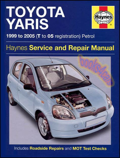 toyota echo shop manual service repair book haynes 2000 2005 2004 2003 2002 2001 ebay