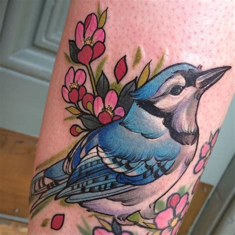 blue jay tattoo best 25 blue ideas on different