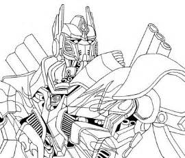 transformers 4 optimus prime sketch coloring page