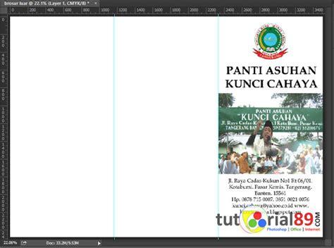 cara membuat kartu nama bolak balik cara mudah membuat brosur lipat 3 dengan photoshop