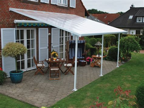 feria  patio cover canopy wpolycarbonate panels