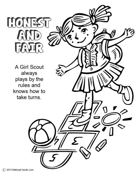 girl scout daisy petal coloring pages coloring pages